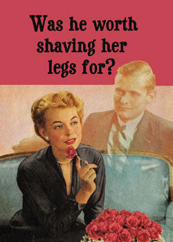 MA0138 - Worth shaving legs