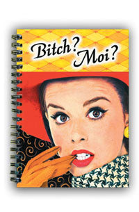 NS0188 Small Notebook: Bitch Moi