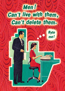 "GC0206 - ""Men! Can't delete"""