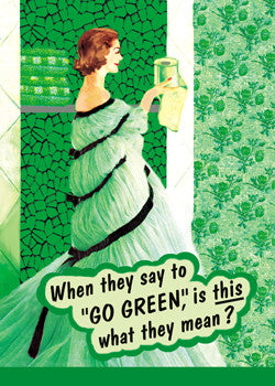 "GC0215 - ""Go Green"""