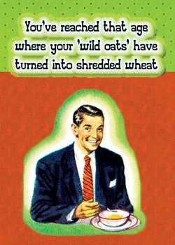 MA0744 - Wild Oats turn into Shredded Wheat