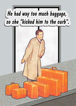 too much baggage