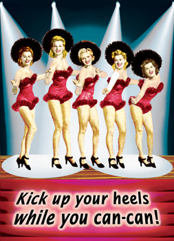 GC0809 - Kick up your heels while you can-can!