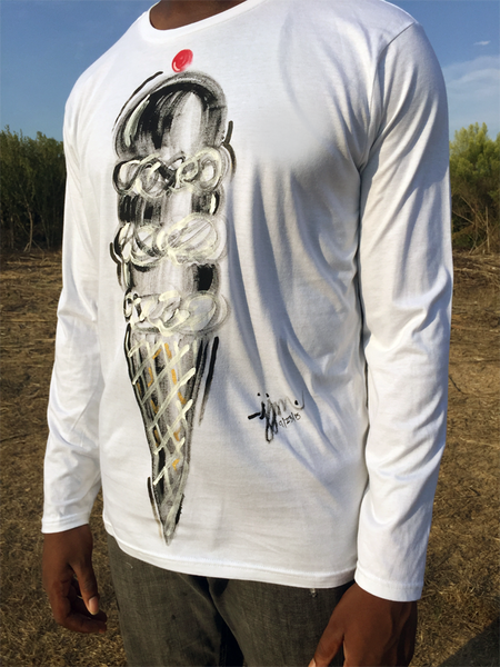 Not Only For the Summer - Ice Cream Tee