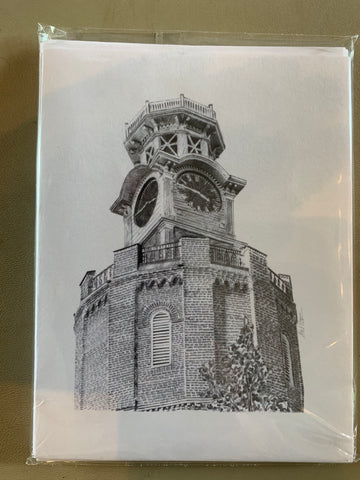 Clock tower note cards