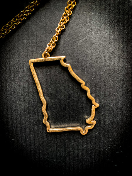 State of Georgia Necklace