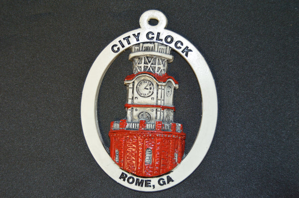 Clock Tower Ornament