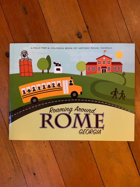 Coloring Book - Roaming Around Rome