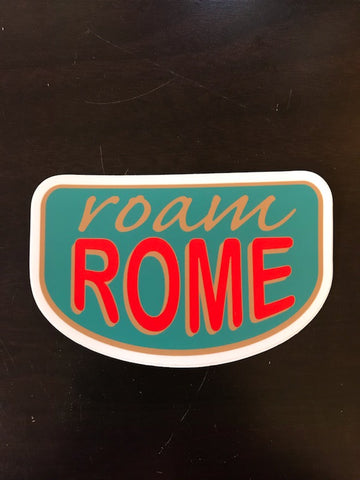 Roam Rome Sticker