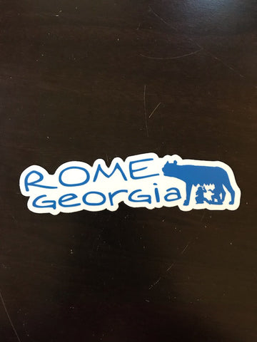Georgia's Rome Sticker