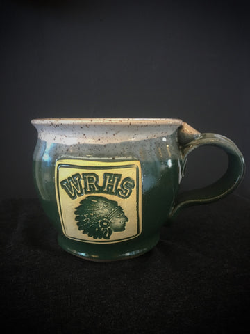 Pottery Mug West Rome High School