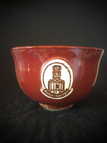 Pottery Bowls with Clocktower