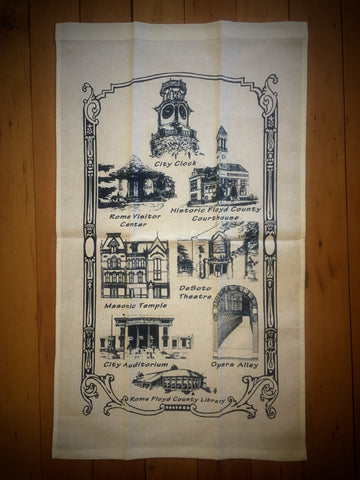 Rome Tea Towel