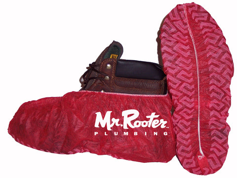 "MR ROOTER Standard Shoe Shield & Boot Covers <br /><h6 style=""text-transform:none;"">Dispenser Boxes: 300</h6>"