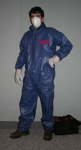 "3 Layer Tek Shield Coverall with Pockets <br /><h6 style=""text-transform:none;"">Case of 25</h6>"