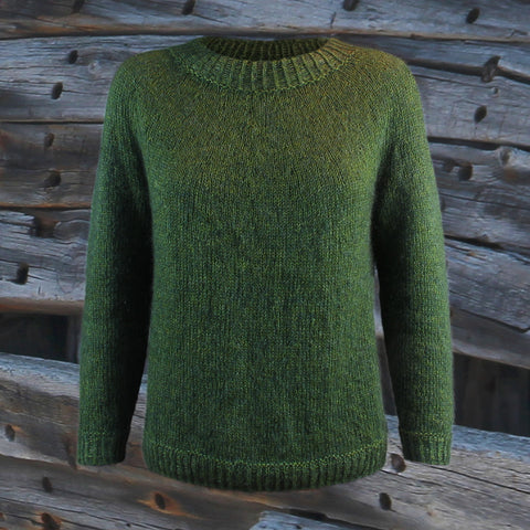 Hanne Larsen Strik, model Enkel - Lace Mix og Alpaca