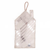 Christmas Ornament House Mille Stamp Grey/Silver