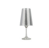 Perforated Lampshade Metallic