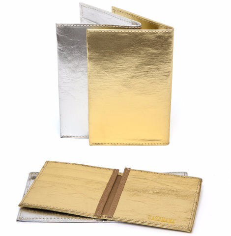 Large Wallet Metallic