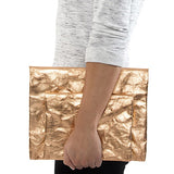 Maru Clutch Metallic