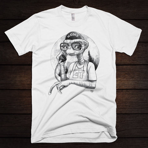 Phone Home Shirt (White)