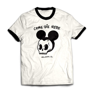 'Come Die Here' - Ringer Tee