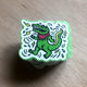 Dancing Gator - Sticker(x3)