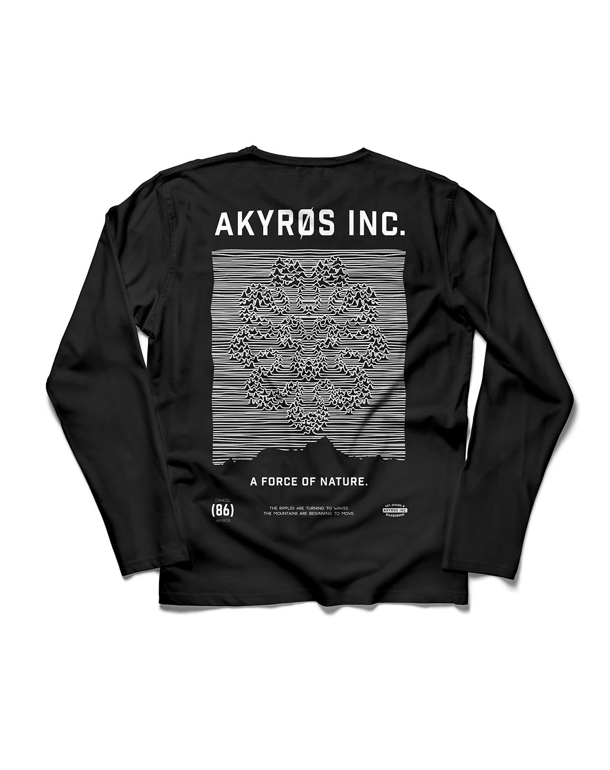 Force Of Nature – Longsleeve
