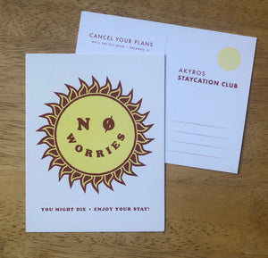 Staycation Postcards