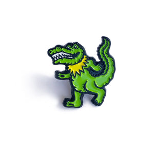 DANCING GATOR Pin