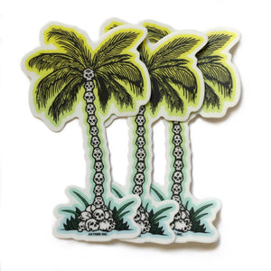 Staycation Palm - Sticker(x3)