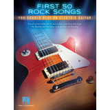 First 50 Rock Songs You Should Play on Electric Guitar (HL00131159)
