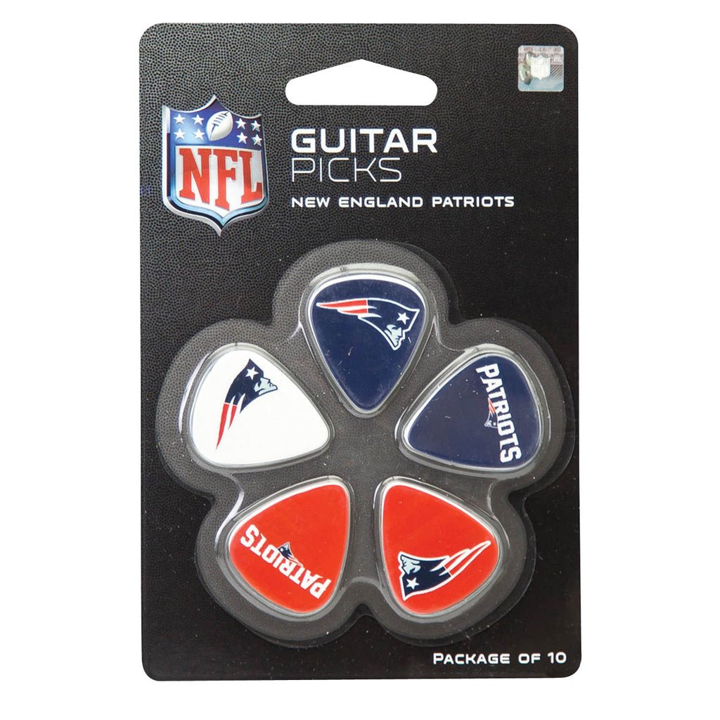 New England Patriots Guitar Picks - Pack of 10