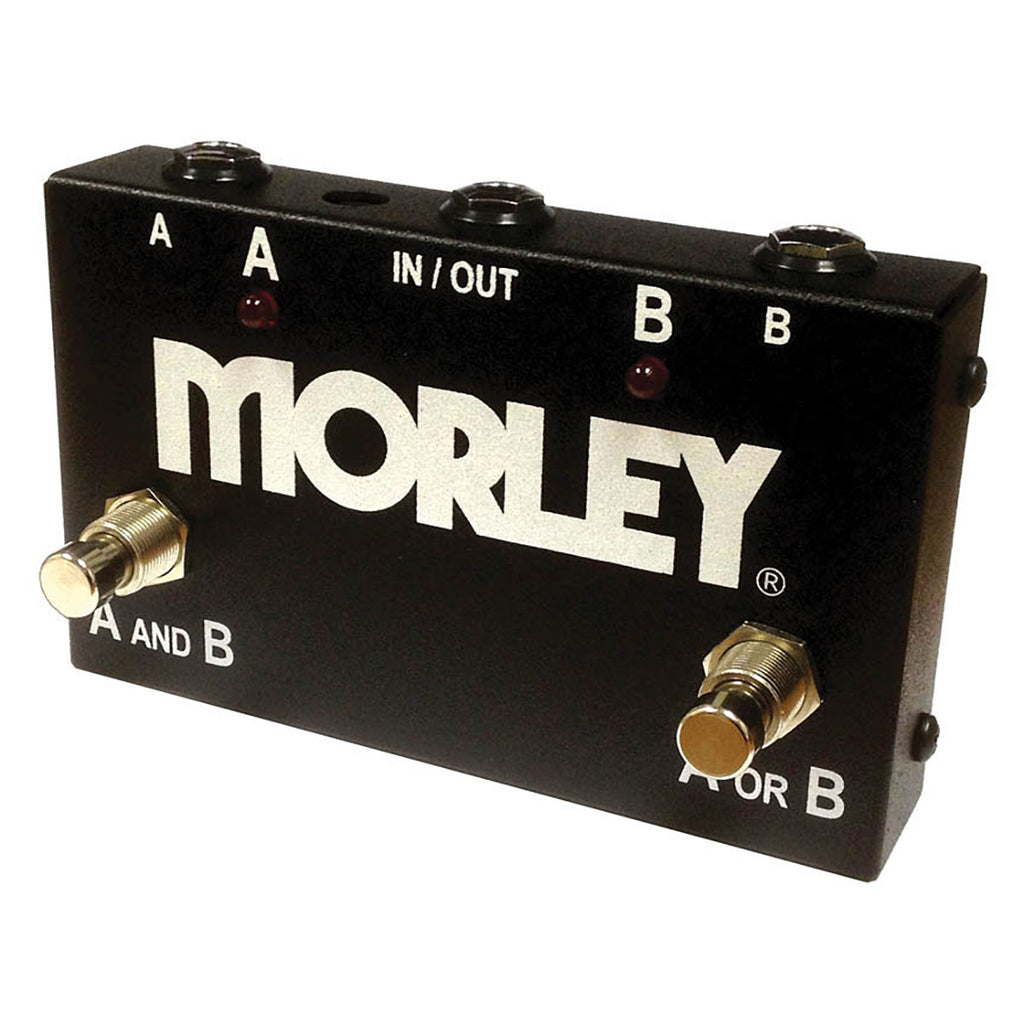 Morley ABY Selector Combiner- Rugged Steel Housing