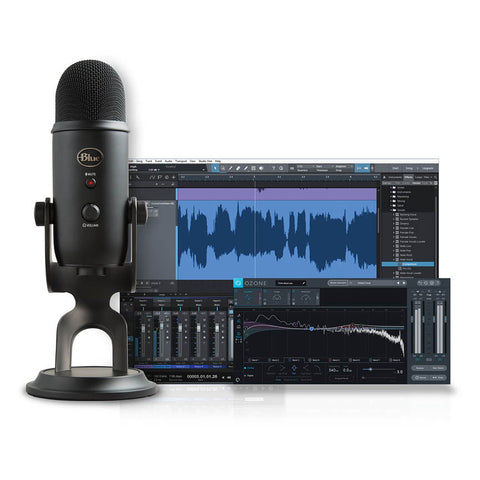 Yeti Blackout Studio Professional Vocal Recording Package