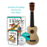 Play Ukulele Today Kit - Includes Ukulele, Instruction Book & DVD's