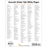 Acoustic Guitar Tab White Pages, 150 Note-For-Note Transcriptions (HL00699590)