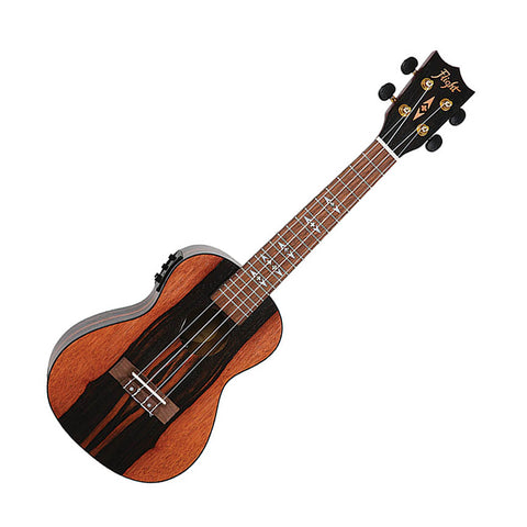 Flight Amara Electro-Acoustic Concert Ukulele with Preamp & EQ (Model DUC460 CEQ)