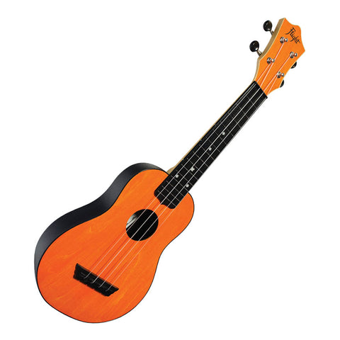 Flight TUS35 Orange Travel Soprano Ukulele with Travel Bag