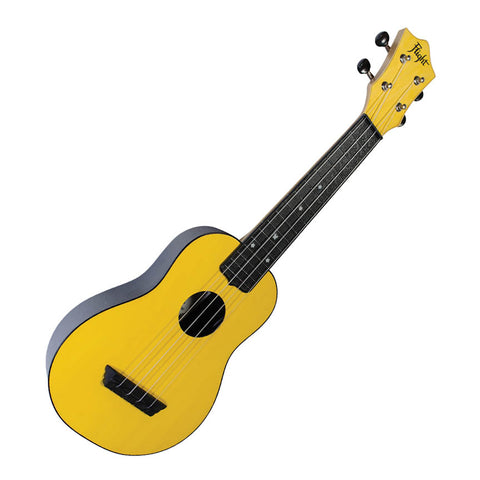 Flight TUS35 Yellow Travel Soprano Ukulele with Travel Bag