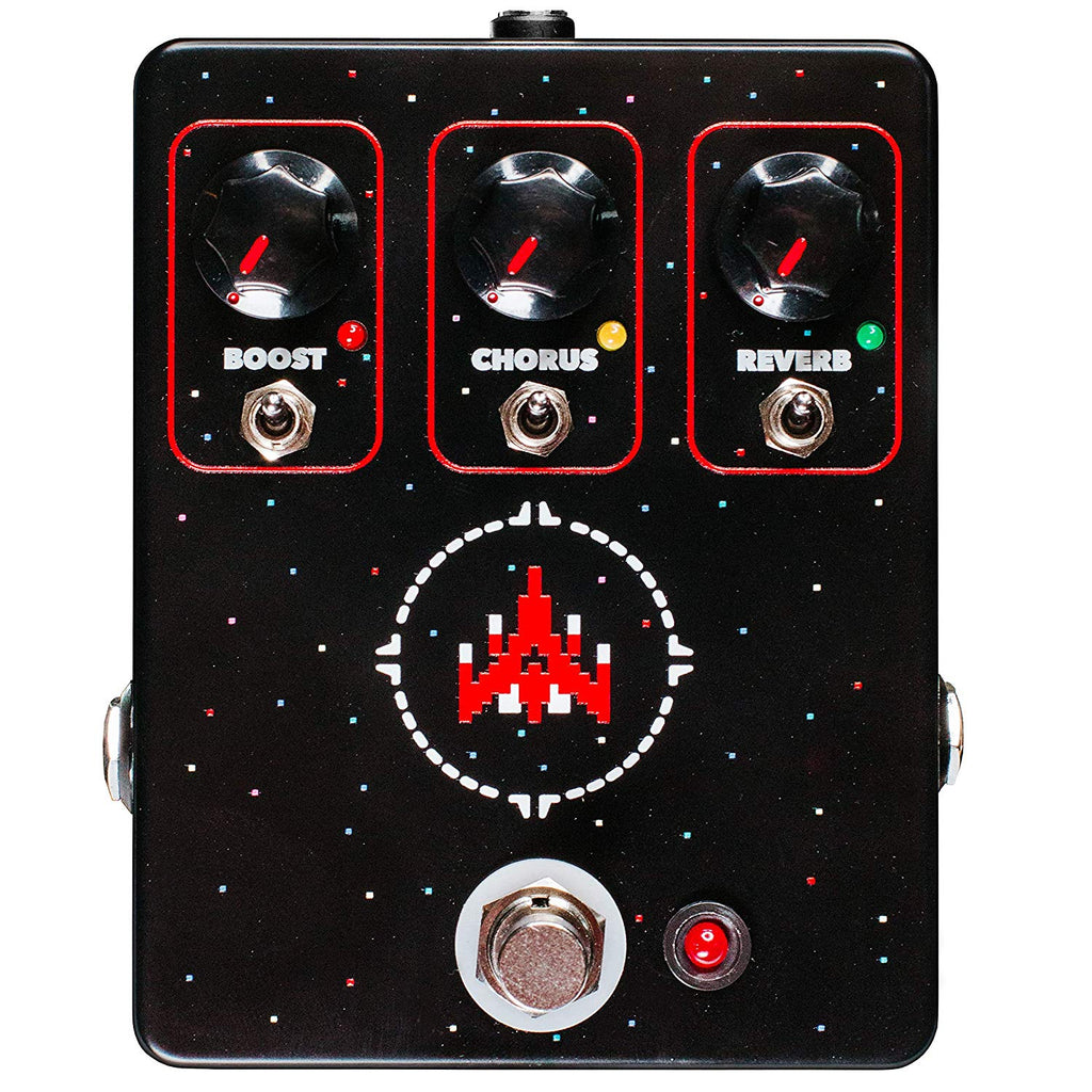 JHS Space Commander Boost, Chorus, and Reverb
