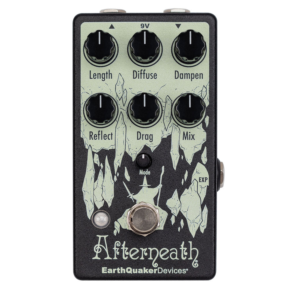 EarthQuaker Devices Afterneath V3 Delay and Reverb Effects Pedal