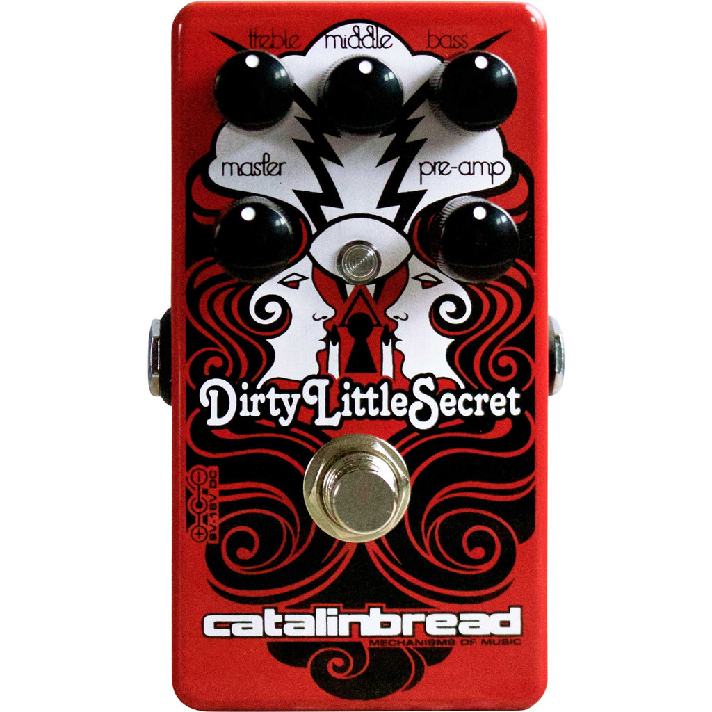 Catalinbread Dirty Little Secret Red MKIII Overdrive
