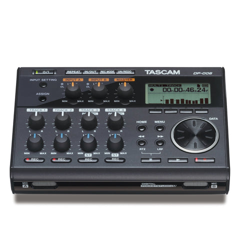 TASCAM DP-006 6-Track Digital Pocketstudio - Open Box