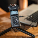 TASCAM DR-07X Stereo Handheld Digital Audio Recorder & USB Audio Interface