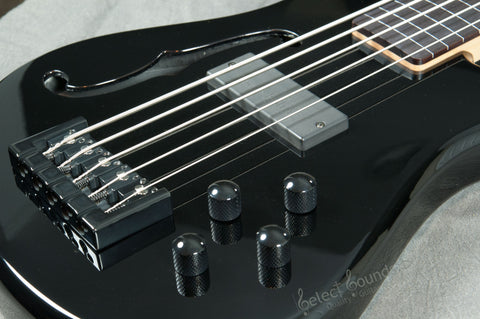 Spector Spectorcore 5-String Fretless Bass With Bartolini Pickups And Black Gloss Finish