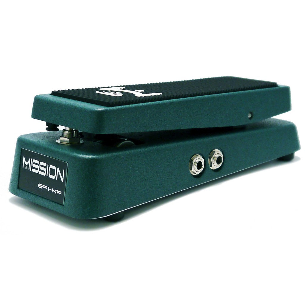 Mission Engineering EP1-KP-GN Textured Green Switching Expression Pedal