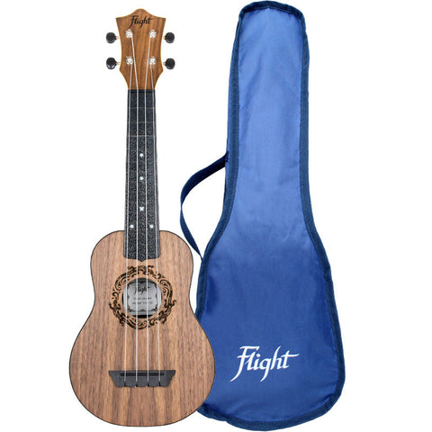 Flight TUS50 Salamander Travel Soprano Ukulele