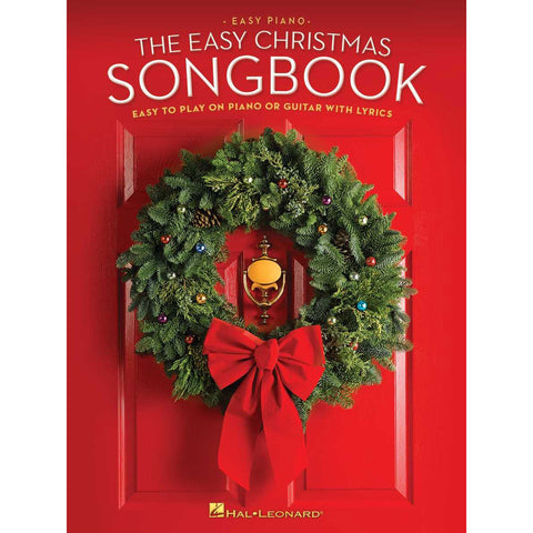 The Easy Christmas Songbook Easy to Play Piano, Guitar with Lyrics