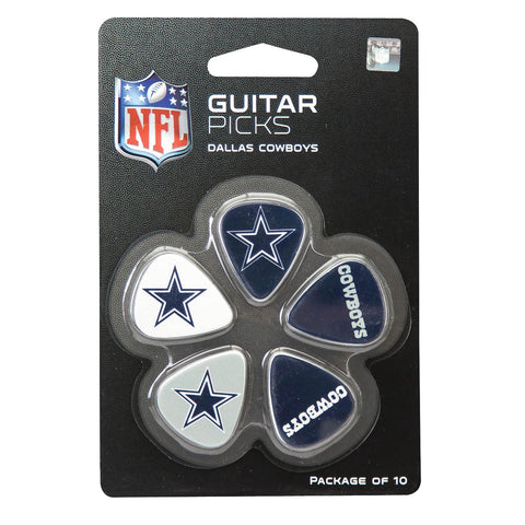 Dallas Cowboys Guitar Picks - Pack of 10
